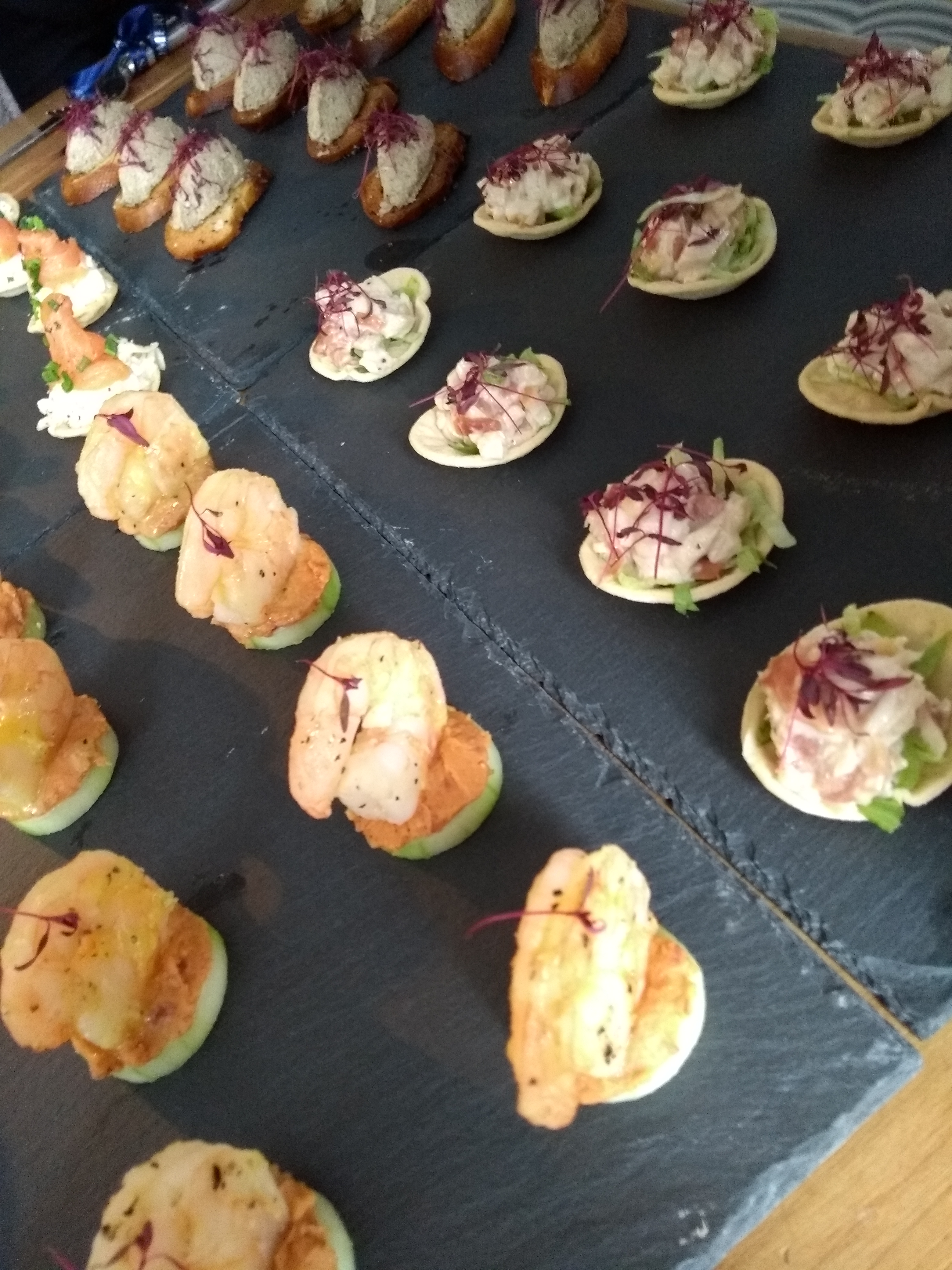 Corporate, Weddings, small or large private parties. We do it all!